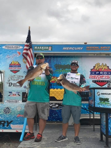 1st-day-leaders-with-1844lb-Lance-reynolds--Austin-Angel-1st-stop-st-Bernard-parish-Pro-Series-2017